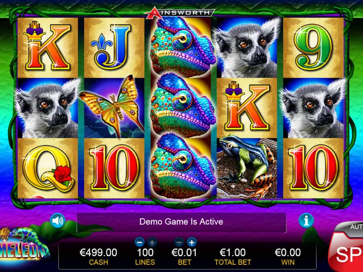 King Chameleon Slot Machine