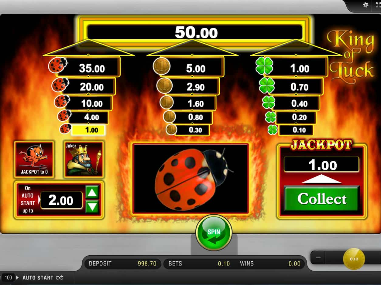 King Of Luck Online Casino