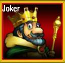 Bónusz szimbólum a King of Luck online nyerőgépből