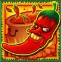 Wild symbol from La Cucaracha online slot
