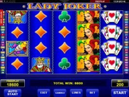 Free Lady Joker slot online