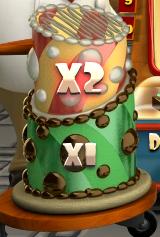 Bonsu feature from slot machine Le Chocolatier