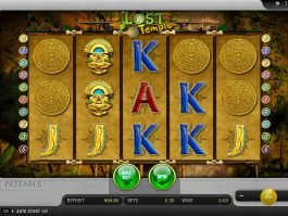 Casino online slot Lost Temple