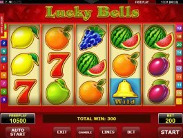 No deposit game Lucky Bells online