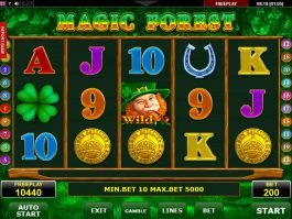 Online free casino game Magic Forest