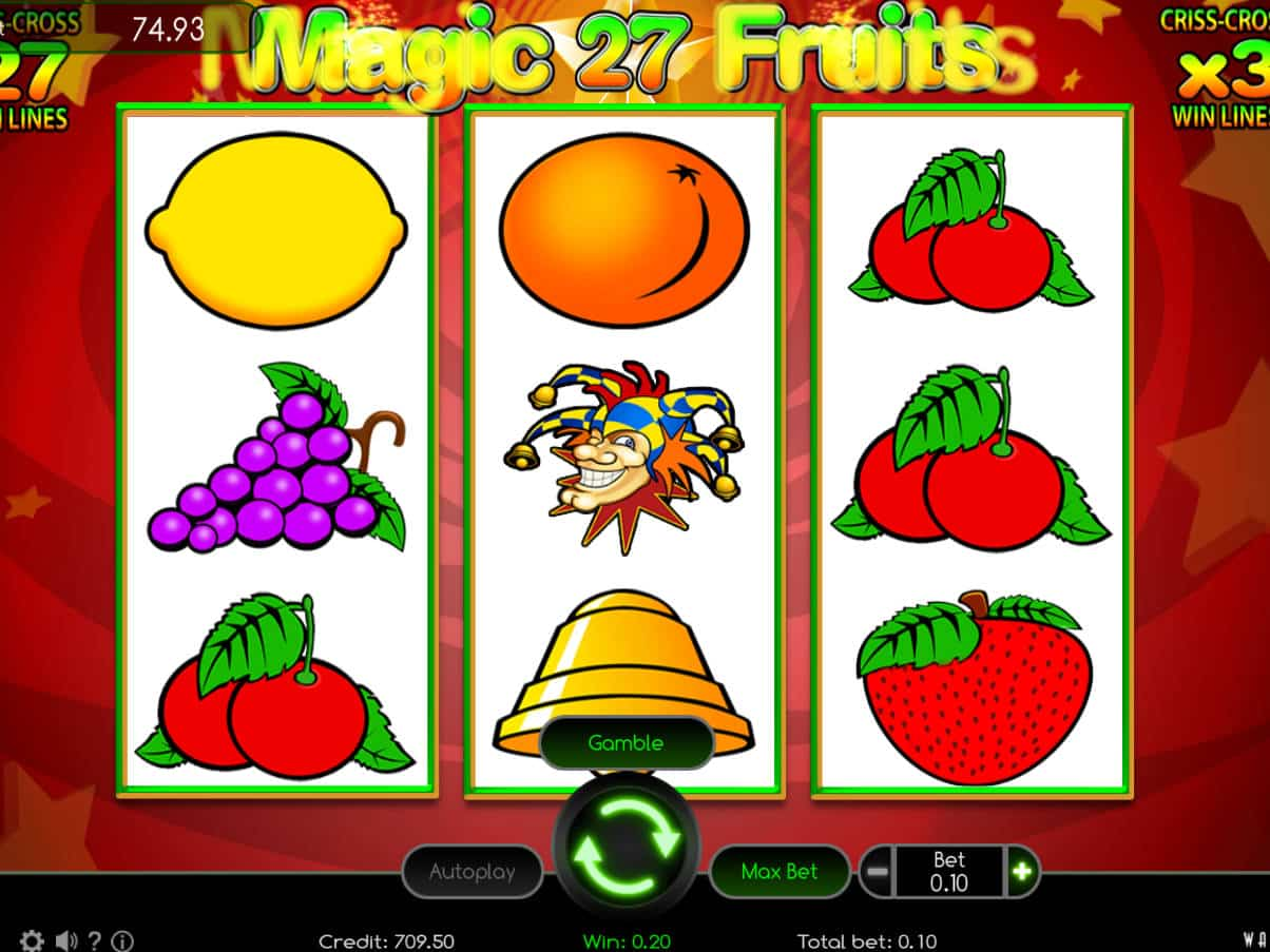 Spiele Magic Fruits 27 - Video Slots Online