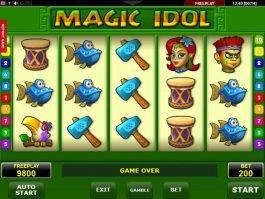 Casino online slot machine Magic Idol