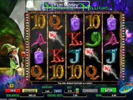 Free slot game Merlin's Millions Super Bet