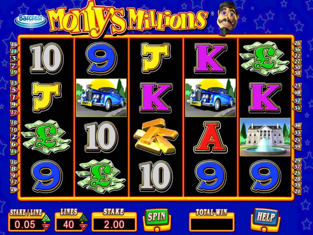 Play Montys Millions