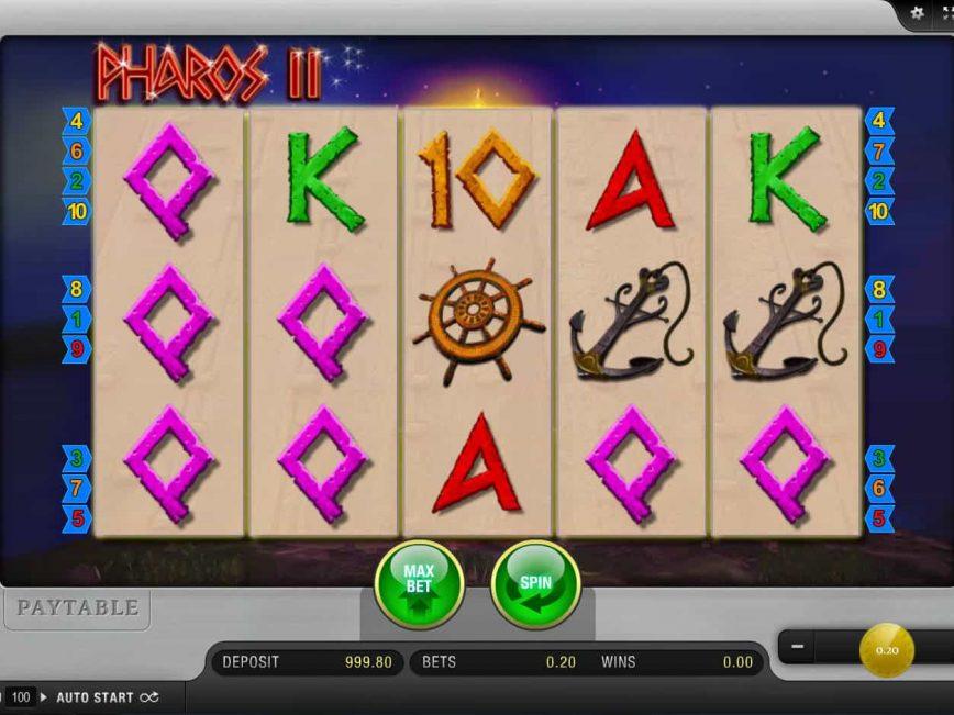 Play online slot machine Pharos II