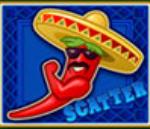 Scatter symbol - Red Chilli online free slot