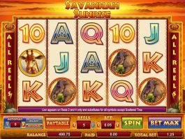 Savannah Sunrise online free slot for fun