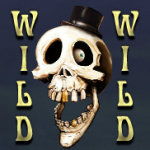Wild symbol from casino game Spooky Family online