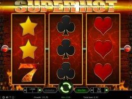 Free casino game Super Hot no deposit