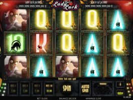 Free online slot machine Super Lady Luck