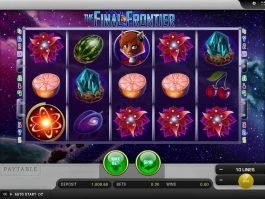 Play online slot machine The Final Frontier