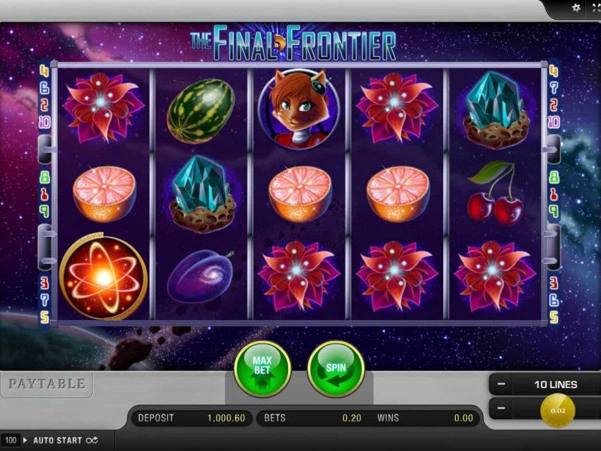 The Final Frontier Slot Machine