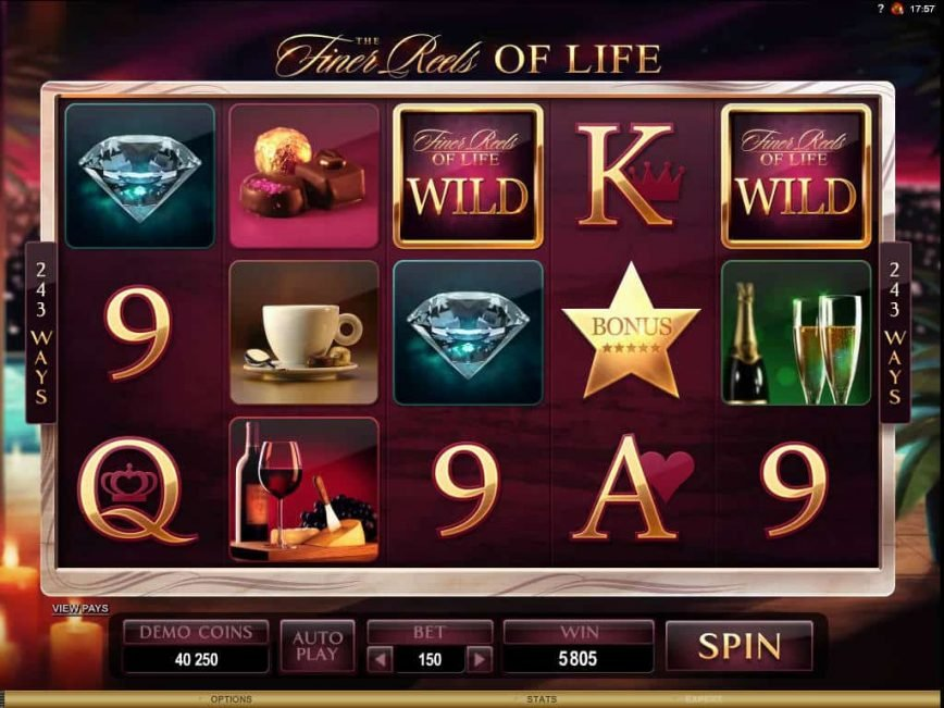 The Finer Reels Of Life Slot Machine Play Free Online