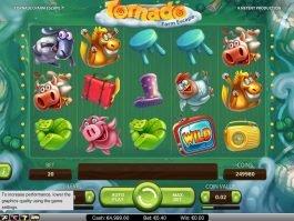 Spin online slot machine Tornado: Farm Escape