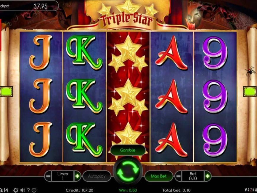 Online free slot Triple Star no deposit