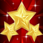 Wild symbol from online free slot game Triple Star