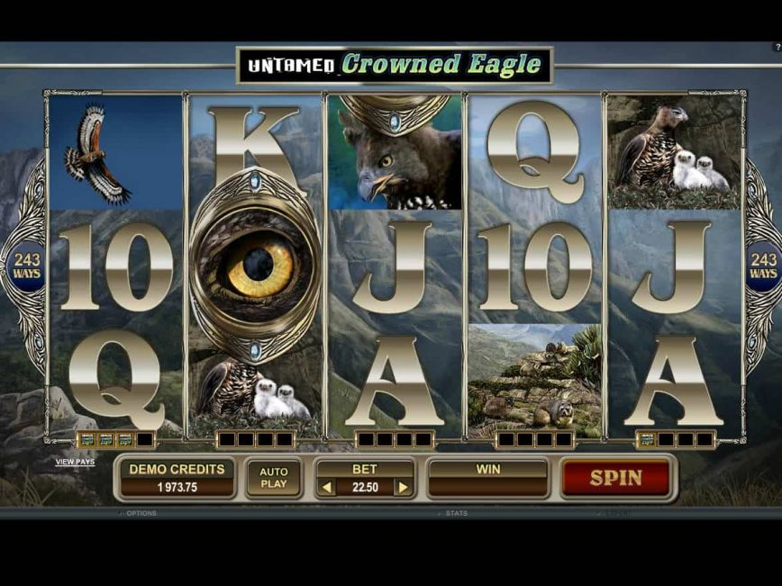 Free slot game Untamed Crowned Eagle