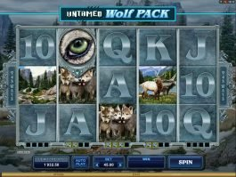 Casino slot for fun Untamed Wolf Pack