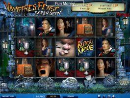 Online free slot Vampires Feast Super Spin