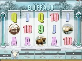 White Buffalo online slot machine for fun