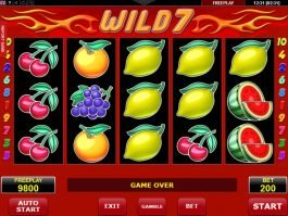 No download game Wild 7 online