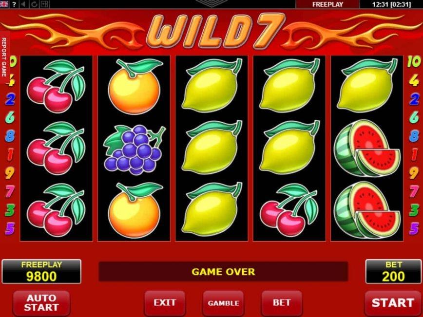 No download game Wild 7 online