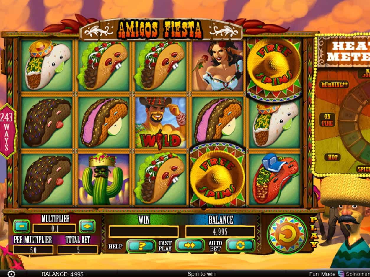 Spiele Amigos Fiesta - Video Slots Online