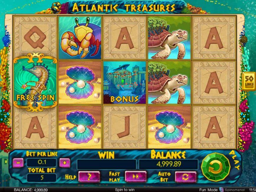 No download game Atlantic Treasures for fun