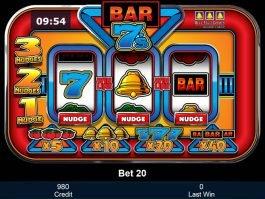 Online free slot machine Bar 7's no deposit