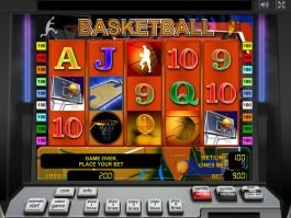 Online slot Basketball for free