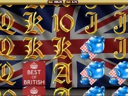 Casino game Best of British online