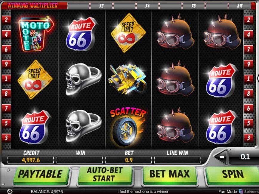 Bikers gang slot machine online spinomenal lucky omania 777