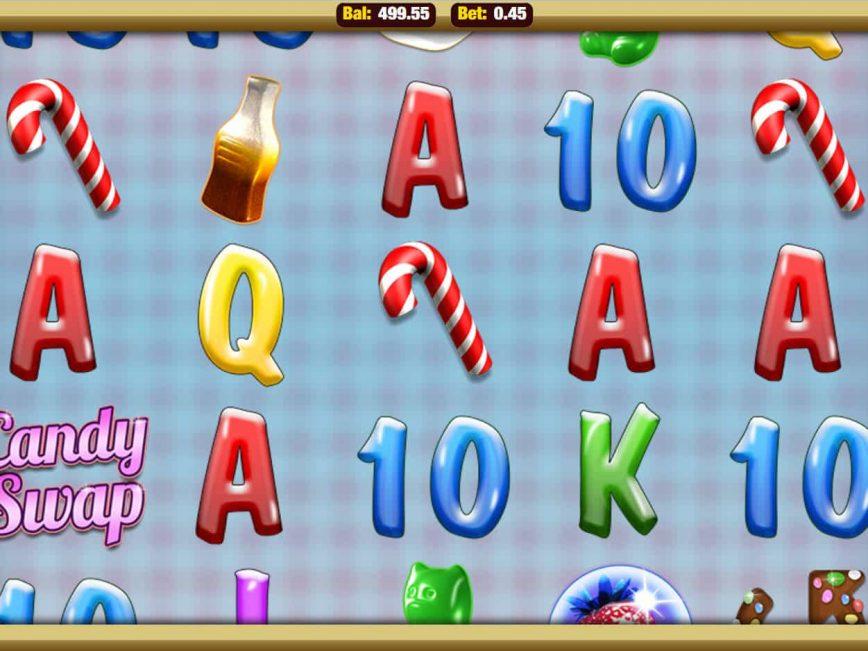 Online slot machine Candy Swap by Nektan
