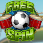 Free Spin symbol from Carnival Cup slot