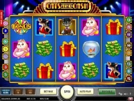 No registration game Cats and Cash online