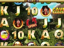 Slot machine online Cave Raiders