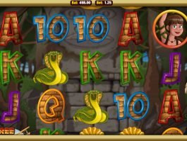 Play free slot game Cave Raiders HD