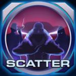 Scatter symbol from online slot machine Drive Multiplier Mayhem