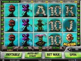 Casino slot machine Eat Them All