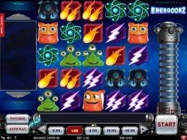 Online no deposit game Energoonz