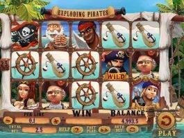 Play slot machine Exploding Pirates
