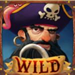 Simbol wild în jocul de aparate online Exploding Pirates