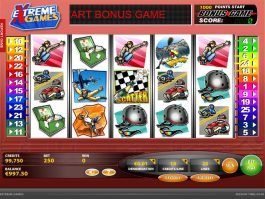 Casino slot machine Extreme Games
