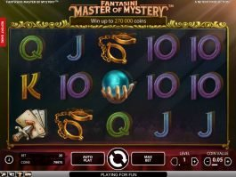 Spin casino game Fantasini: Master of Mystery