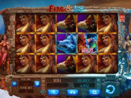 Casino slot machine Fire and Ice no deposit